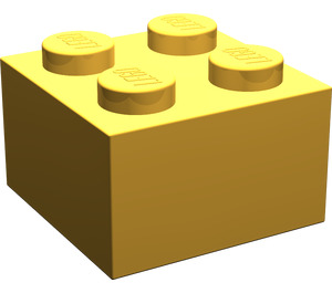 LEGO Bright Light Orange Brick 2 x 2 (3003)