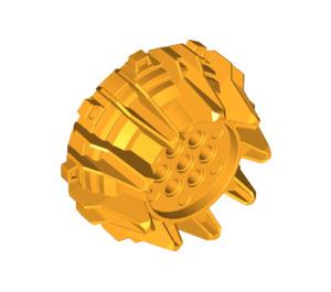 LEGO Bright Light Orange Giant Wheel with Pin Holes and Spokes (64712)
