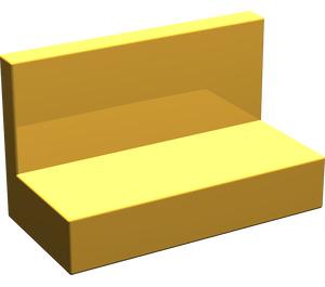 LEGO Bright Light Orange Panel 1 x 2 x 1 without Rounded Corners
