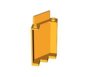 LEGO Bright Light Orange Panel Wall 3 x 3 x 6 Corner without Bottom Indentations (87421)