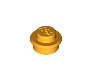 LEGO Bright Light Orange Plate 1 x 1 Round (6141)