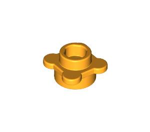 LEGO Bright Light Orange Plate 1 x 1 Round with Tabs (28573 / 33291)