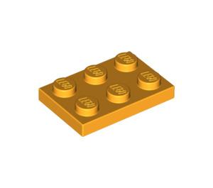 LEGO Bright Light Orange Plate 2 x 3 (3021)