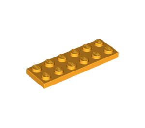 LEGO Bright Light Orange Plate 2 x 6 (3795)