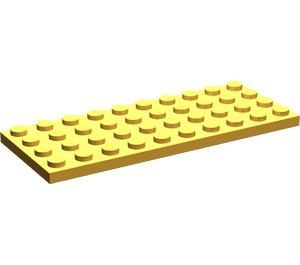 LEGO Bright Light Orange Plate 4 x 10 (3030)