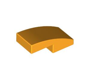 LEGO Bright Light Orange Slope 1 x 2 Curved (11477)