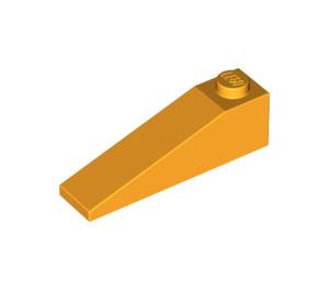 LEGO Bright Light Orange Slope 1 x 4 x 1 (18°) (60477)