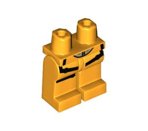 LEGO Bright Light Orange Tracer Minifigure Hips and Legs (46922)