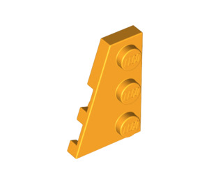 LEGO Bright Light Orange Wing 2 x 3 Left (43723)