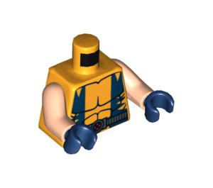 LEGO Bright Light Orange Wolverine Torso (76382)