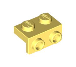 LEGO Bright Light Yellow Bracket 1 x 2 - 1 x 2 (99781)