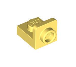 LEGO Bright Light Yellow Plate 1 x 1 with 1/2 Bracket (36840)