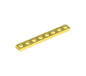 LEGO Bright Light Yellow Plate 1 x 8 (3460)