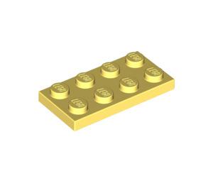 LEGO Bright Light Yellow Plate 2 x 4 (3020)