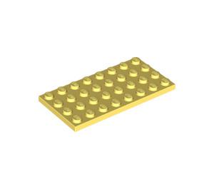 LEGO Bright Light Yellow Plate 4 x 8 (3035)