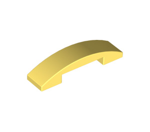 LEGO Bright Light Yellow Slope 1 x 4 Curved Double (93273)