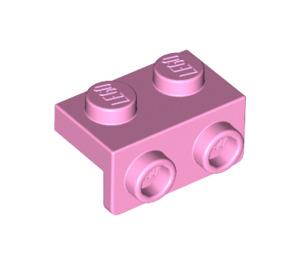 LEGO Bright Pink Bracket 1 x 2 - 1 x 2 (99781)