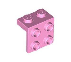 LEGO Bright Pink Bracket 1 x 2 - 2 x 2 (44728 / 92411)