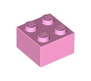 LEGO Bright Pink Brick 2 x 2 (3003)