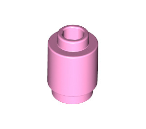 LEGO Bright Pink Brick Round 1 x 1 with Open Stud (3062)