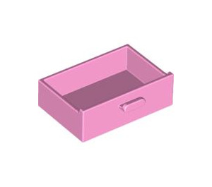 LEGO Bright Pink Cupboard Drawer (4536)