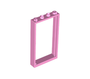 LEGO Bright Pink Door Frame 1 x 4 x 6 Single Sided (60596)