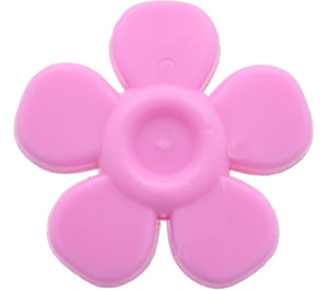 LEGO Bright Pink Flower with Smooth Petals (93080)