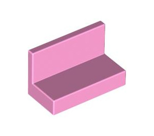 LEGO Bright Pink Panel 1 x 2 x 1 without Rounded Corners (4865)