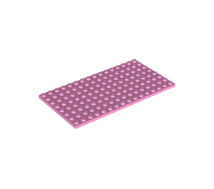 LEGO Bright Pink Plate 8 x 16 (92438)