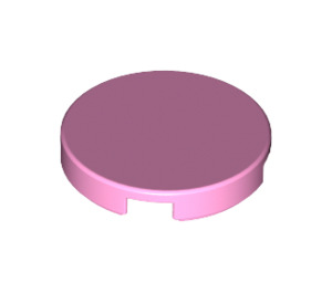 LEGO Bright Pink Round Tile 2 x 2 with Bottom Stud Holder (14769)