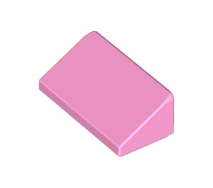 LEGO Bright Pink Slope 1 x 2 (31°) (85984)