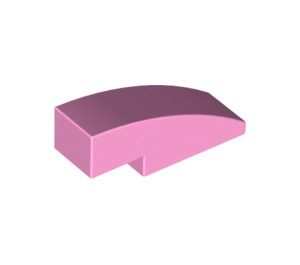 LEGO Bright Pink Slope 1 x 3 Curved (50950)