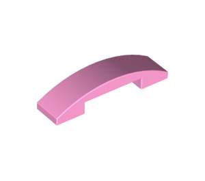 LEGO Bright Pink Slope 1 x 4 Curved Double (93273)
