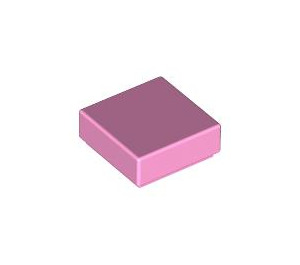 LEGO Bright Pink Tile 1 x 1 with Groove (3070)