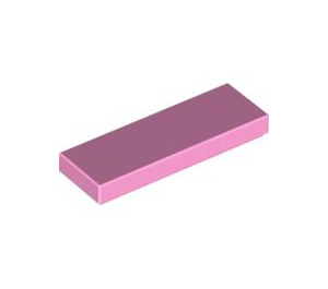 LEGO Bright Pink Tile 1 x 3 (63864)