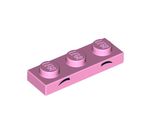 LEGO Bright Pink Unikitty Plate 1 x 3 (38275)