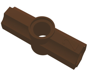 LEGO Brown Angle Connector #2 (180º) (32034)
