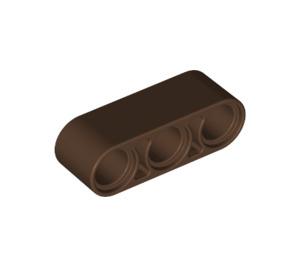 LEGO Brown Beam 3 (32523)