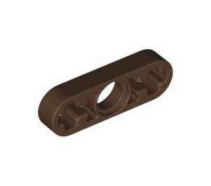 LEGO Brown Beam 3 x 0.5 with Axle Hole each end (6632)