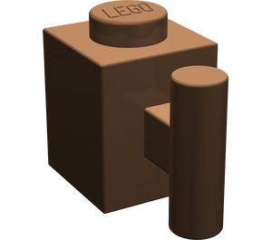 LEGO Brown Brick 1 x 1 with Handle (2921)