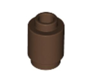 LEGO Brown Brick Round 1 x 1 with Open Stud (3062)