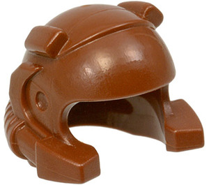 LEGO Brown Helmet with Coiks and Headlamp (30325)