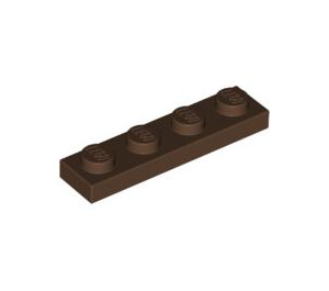 LEGO Brown Plate 1 x 4 (3710)