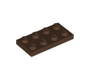 LEGO Brown Plate 2 x 4 (3020)