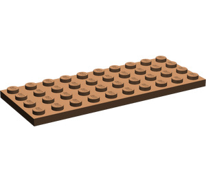 LEGO Brown Plate 4 x 10 (3030)