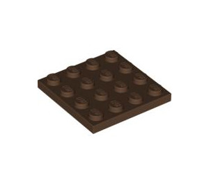 LEGO Brown Plate 4 x 4 (3031)