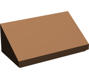 LEGO Brown Slope 1 x 2 (31°)