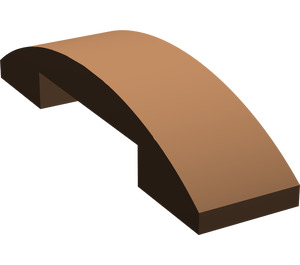 LEGO Brown Slope 1 x 4 Curved Double