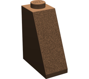 LEGO Brown Slope 65° 1 x 2 x 2