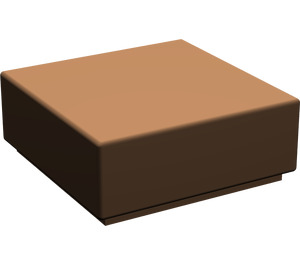 LEGO Brown Tile 1 x 1 with Groove (3070)